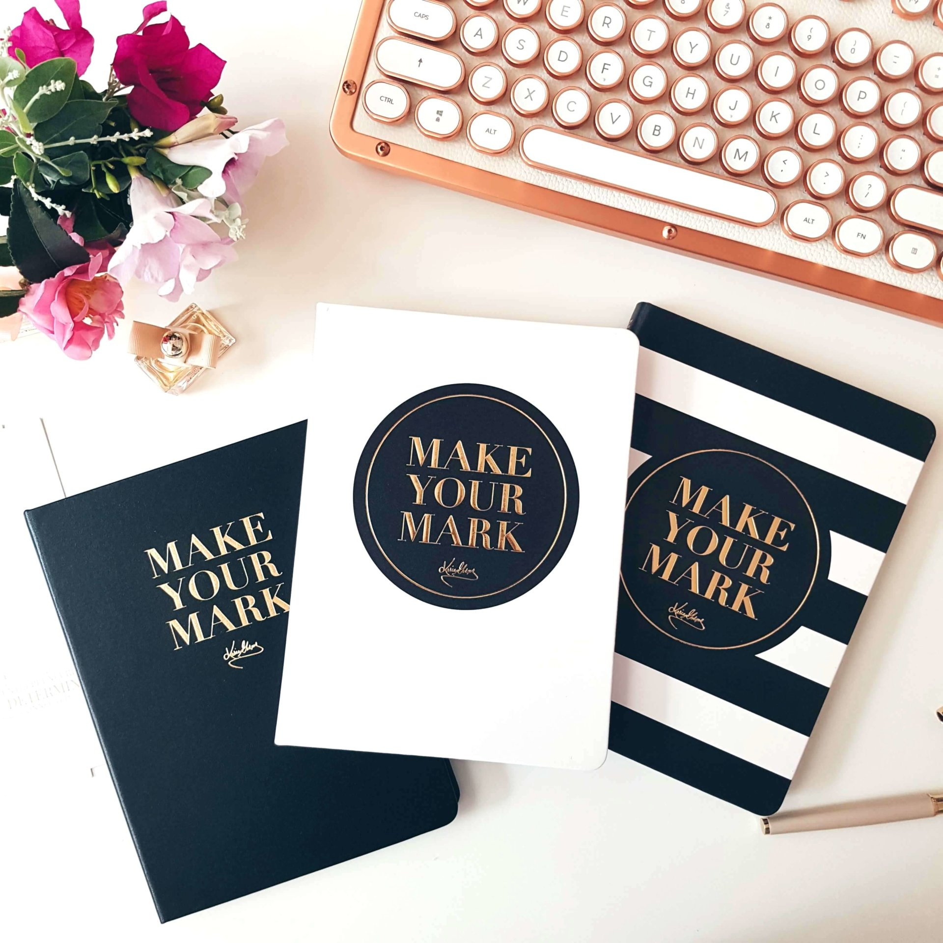 Make Your Mark Notebook, Daily Planner & Self-Coaching Journal Set