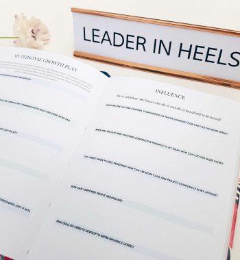 Leaders in Heels Phenomenal Woman Planner