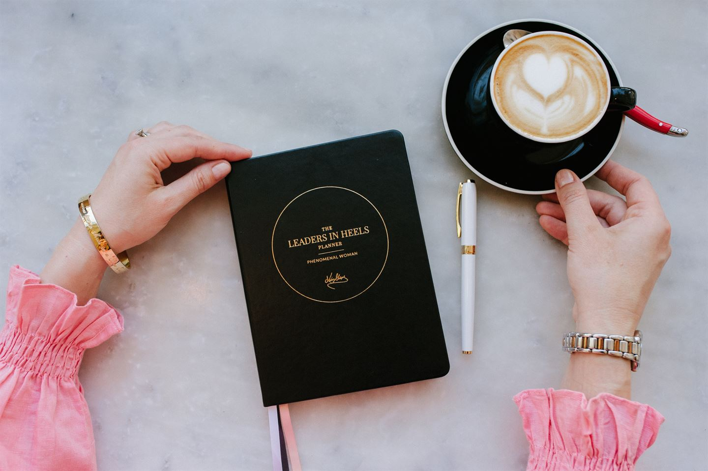 Phenomenal Woman Planner Black