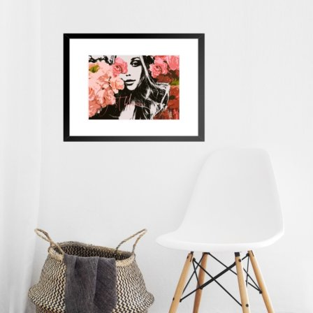 Just Bloom Art Print Leaders in Heels