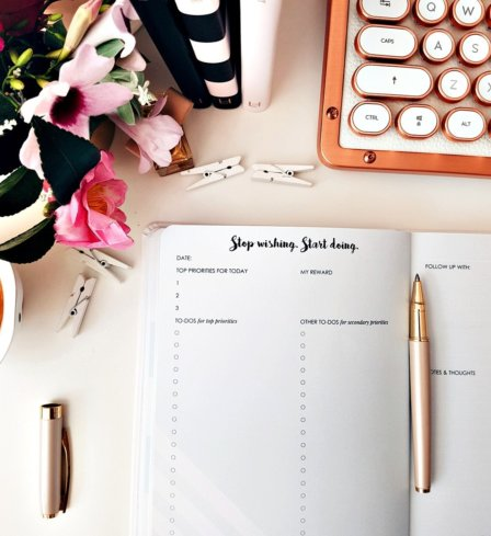 Make Your Mark Daily Planner Leaders in Heels