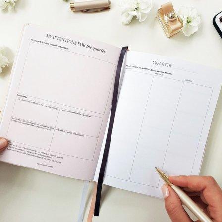 The Leaders in Heels Planner Make It Happen - Quarterly Planner