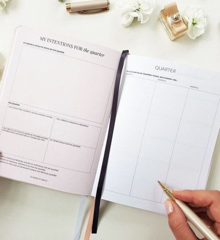 The Leaders in Heels Planner Make It Happen - Quarterly Planner