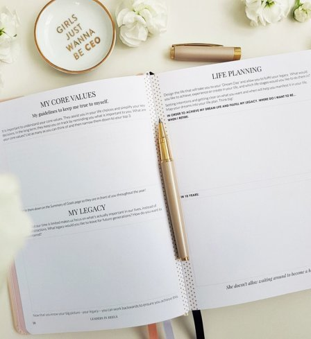 The Leaders in Heels Planner Make It Happen - Life Planning Pages