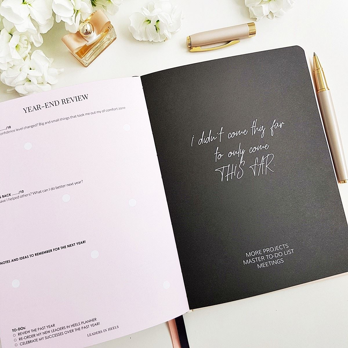 The Leaders in Heels Planner Make It Happen - Year end review