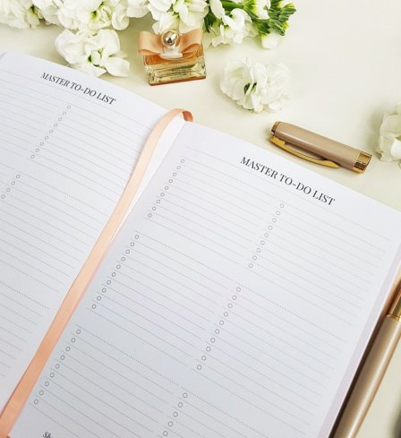 The Leaders in Heels Planner Make It Happen - Master To DO List