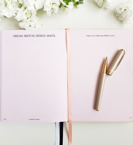 The Leaders in Heels Planner Make It Happen - Notes