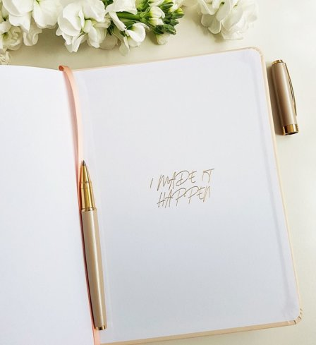 The Leaders in Heels Planner Make It Happen - Endpaper Back