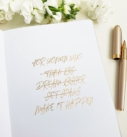 The Leaders in Heels Planner Make It Happen - Endpaper front