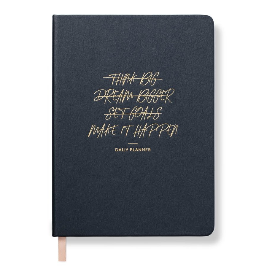 Make it Happen Daily Planner – Midnight blue