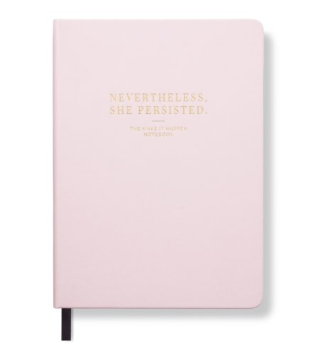 Nevertheless, She Persisted Notebook – Lady Pink