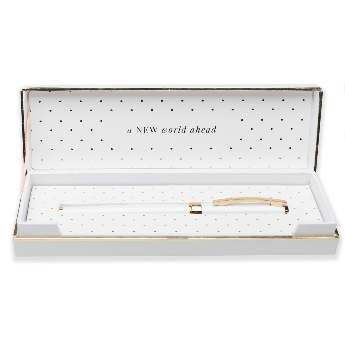 Rollerball Pen – Pearl White – a NEW world ahead