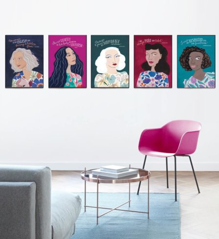 Iconic Feminist Collection Art Prints