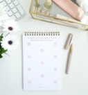 Phenomenal Woman Notepad Note