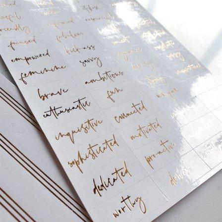Elegant Planner Stickers