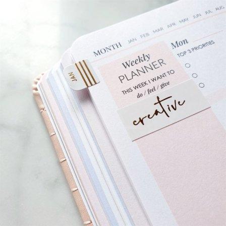 Minimalistic Planner Stickers