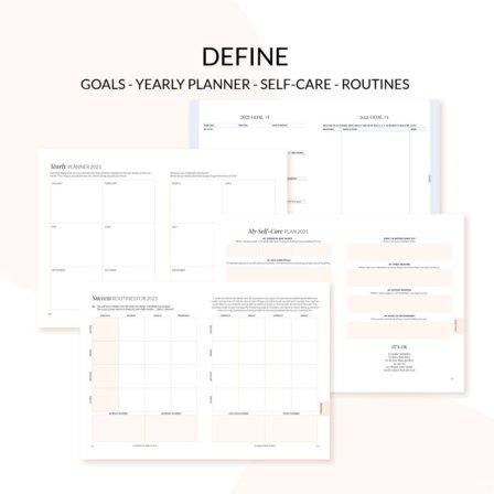 Leaders in Heels 2021 printable planner