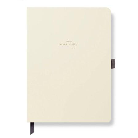 Meeting Notebook Ivory