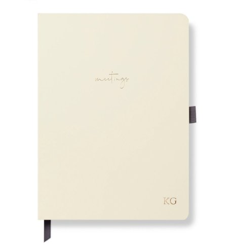 Meeting Notebook Ivory