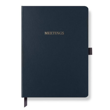 Meeting Notebook Midnight Blue