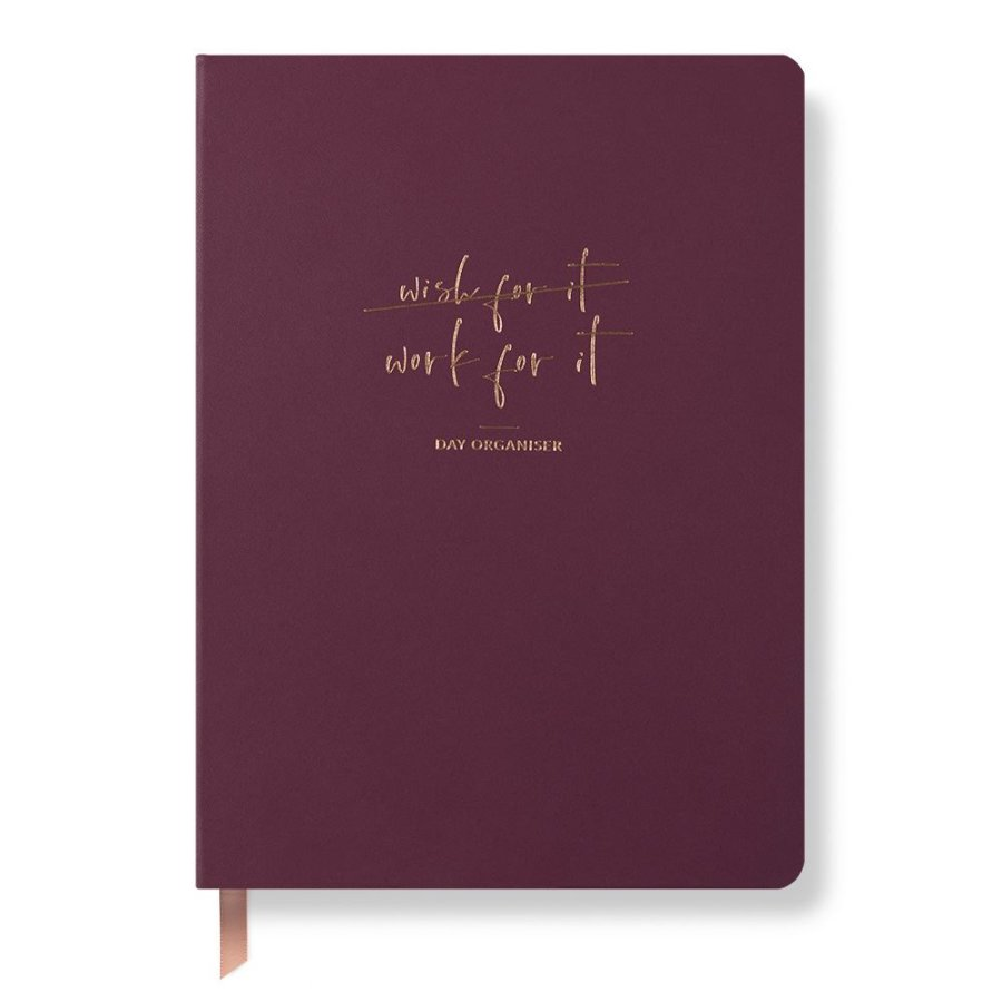 Work For It Day Organiser Mulberry
