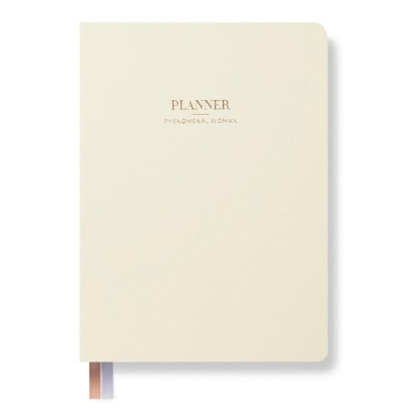 Phenomenal Woman Planner Ivory