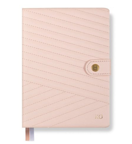 Phenomenal Woman Planner - Chevron-Quilted - Blush - Luxe Edition