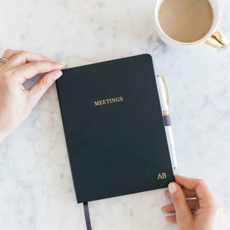 Meeting Notebook Midnight Blue