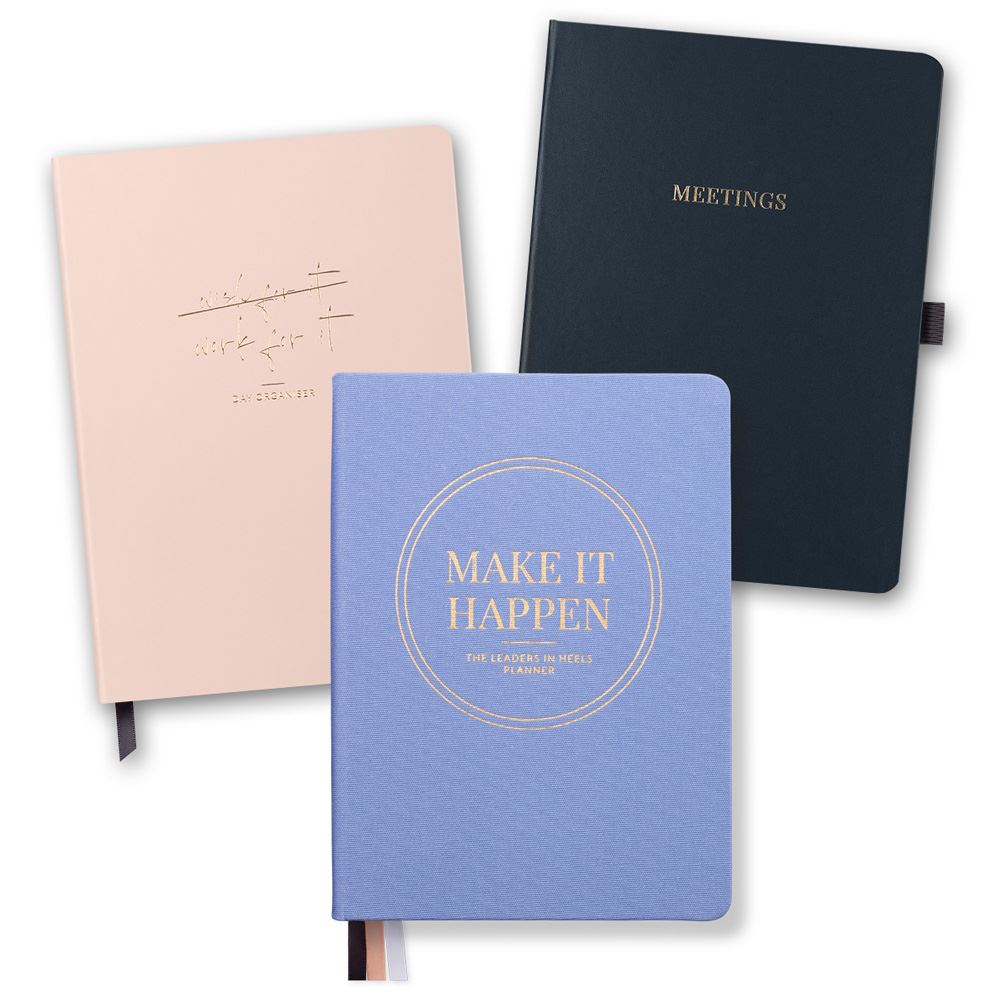 Productivity Bundle – Planner, Day Organiser and Meeting Notebook