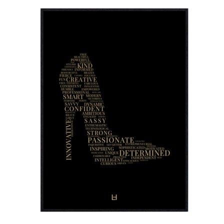 Leaders in Heels Traits Print