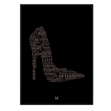 Leaders in Heels Traits Print